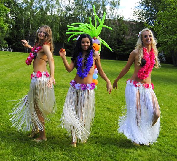 Как сделать гавайские костюмы своими руками