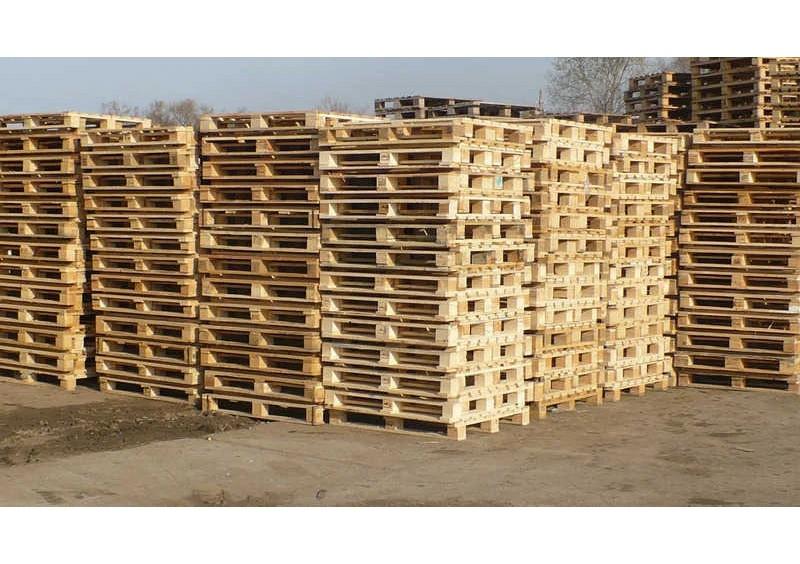 Поддоны деревянные новые 1200 на 1000